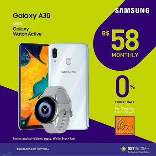 Samsung Galaxy A30 64GB is the action ph