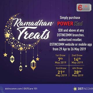 Our Ramadhan Treat is here! Each week du