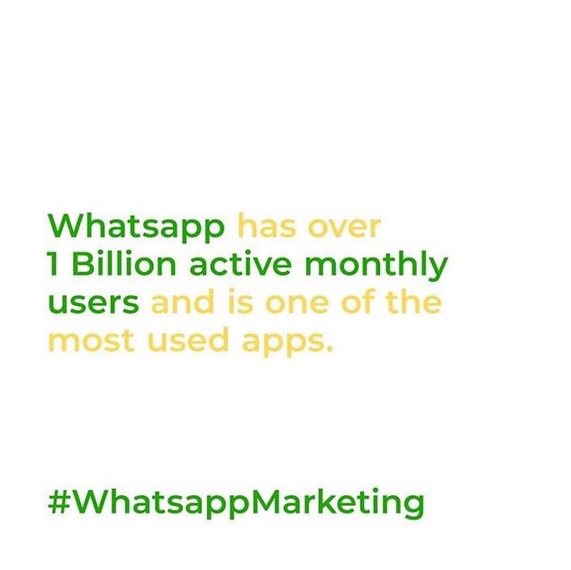 Let's talk WhatsApp! To date, WhatsApp i