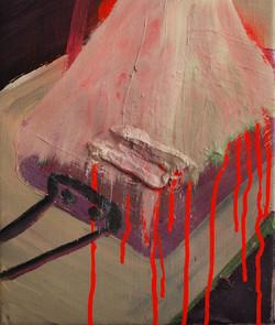 Mess Tin.Oil on Canvas.25cmx30cm.2010