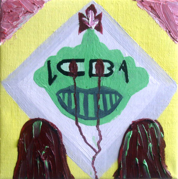 LCBA Logo.Oil on Canvas.25cmx25cm.2008