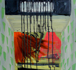 Concrete Holidays - Nightclub.Oil on Canvas.50cmx45cm.2007