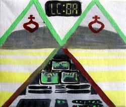 ControlRoom.Oil on Canvas.30cmx25cm.2008