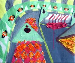 Dorms.Oil on Canvas.30cmx25cm.2008