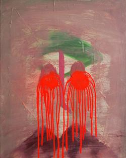Abbey National Cries.Oil on Canvas.45cmx50cm.2010