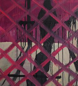 Watching Through Modernist eyes.Oil on Canvas.45cmx50cm.2010