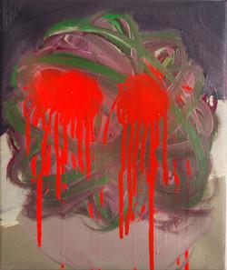 Grandstand..Oil on Canvas.25cmx30cm.2010