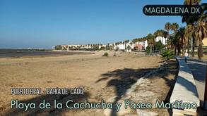 Playa de la Cachucha y Paseo Marítimo de Puerto Real