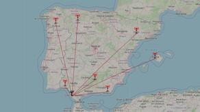 Últimas identificaciones regionales en OM - (23/3 - 25/3/2021)