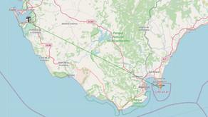 Recepción de BFBS R2 Gibraltar desde la Bahía de Cádiz - 13/2/2021