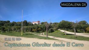 Captación de señales Gibraltareñas desde el Cerro de los Mártires
