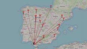 Segunda jornadas de intensas identificaciones locales en la Banda de OM - (8/3 - 12/3 2021)
