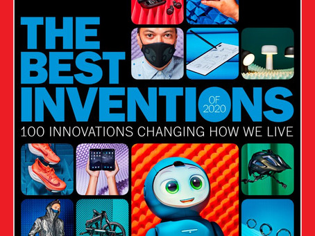 Luci identified as one of TIME Magazine's 100 Best Inventions of 2020