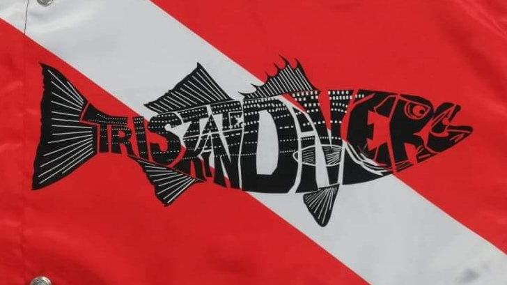 Tristate Skindivers Buoy Flag