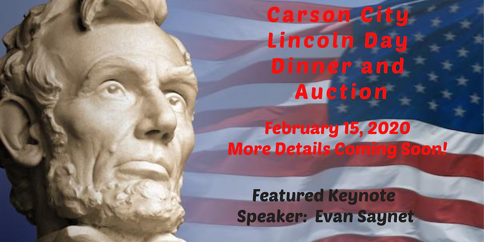 Lincoln Day Dinner and Auction - February 15, 2020