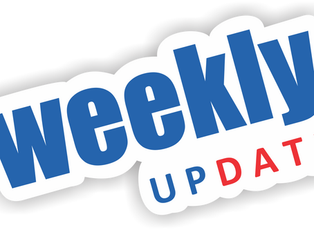 Weekly Update from Paul