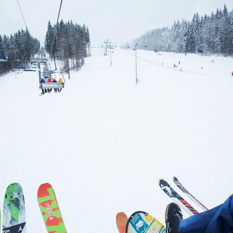 Skiing at Blue Mountain