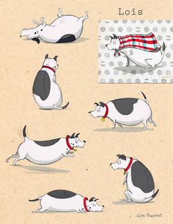 LoisCecilsdogcolormodelsheet4web