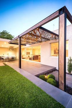 Aluminium Decorated Canopy