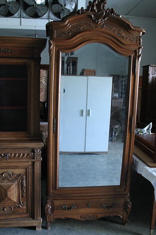 Armoire 1 porte miroir