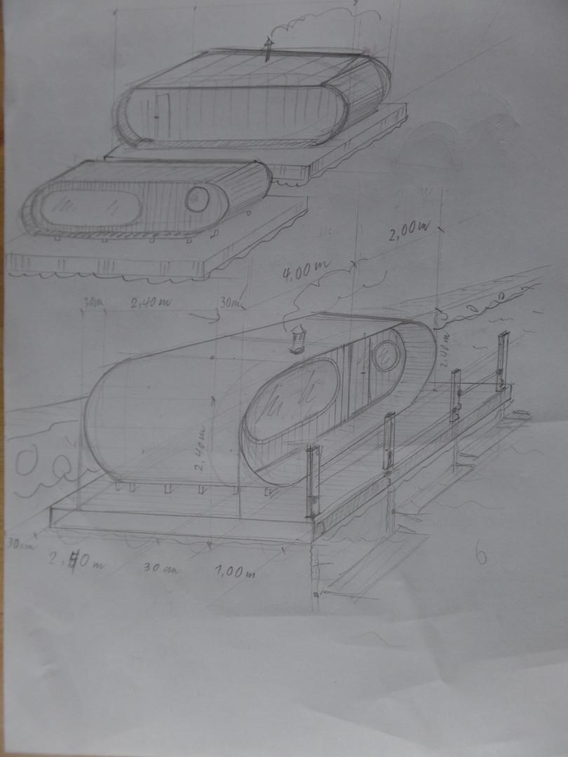 Erste Skizzen