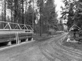 Holzläger im Jolimont fertig