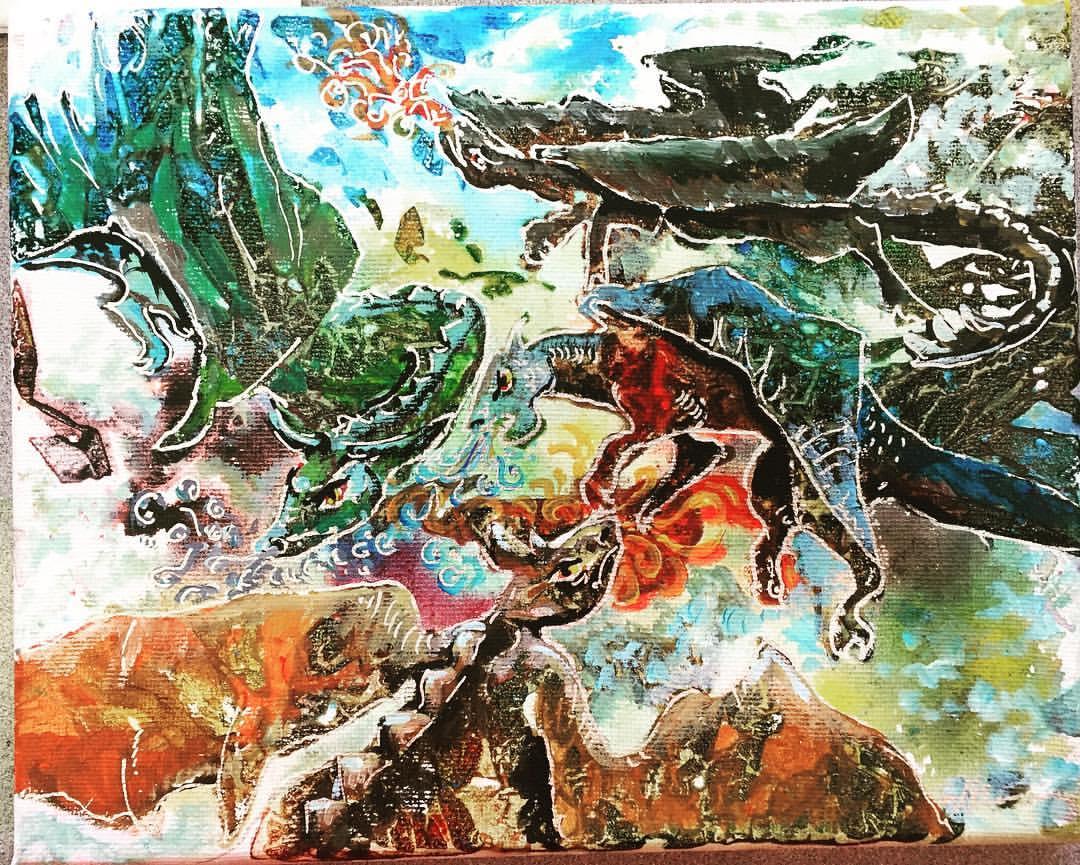 Dragons at War