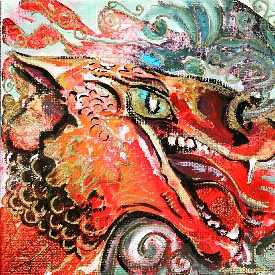 Chinese Fireball dragon