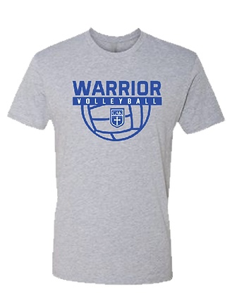 Gray ADULT Volleyball S/S Tee