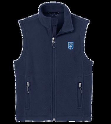 Navy Adult Fleece Vest