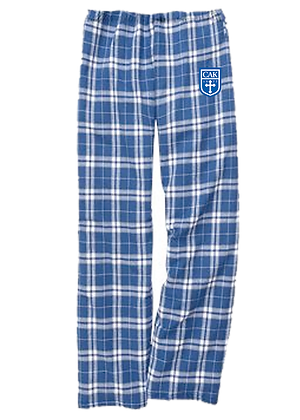 Royal/Gray ADULT PJ Bottoms