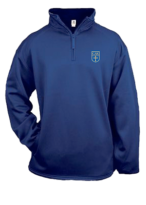 Royal ADULT DRI Fleece 1/4 Zip 2XL