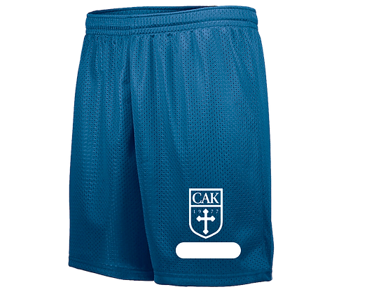 PE Royal Name ADULT Shorts *RUNS SMALL