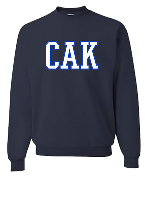 ADULT Navy CAK/Royal Crew Sweatshirt