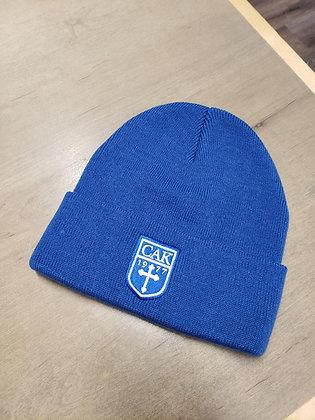 AHEAD Blue Cuffed Knit Hat