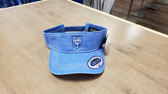AHEAD Pigment Dyed Royal Visor