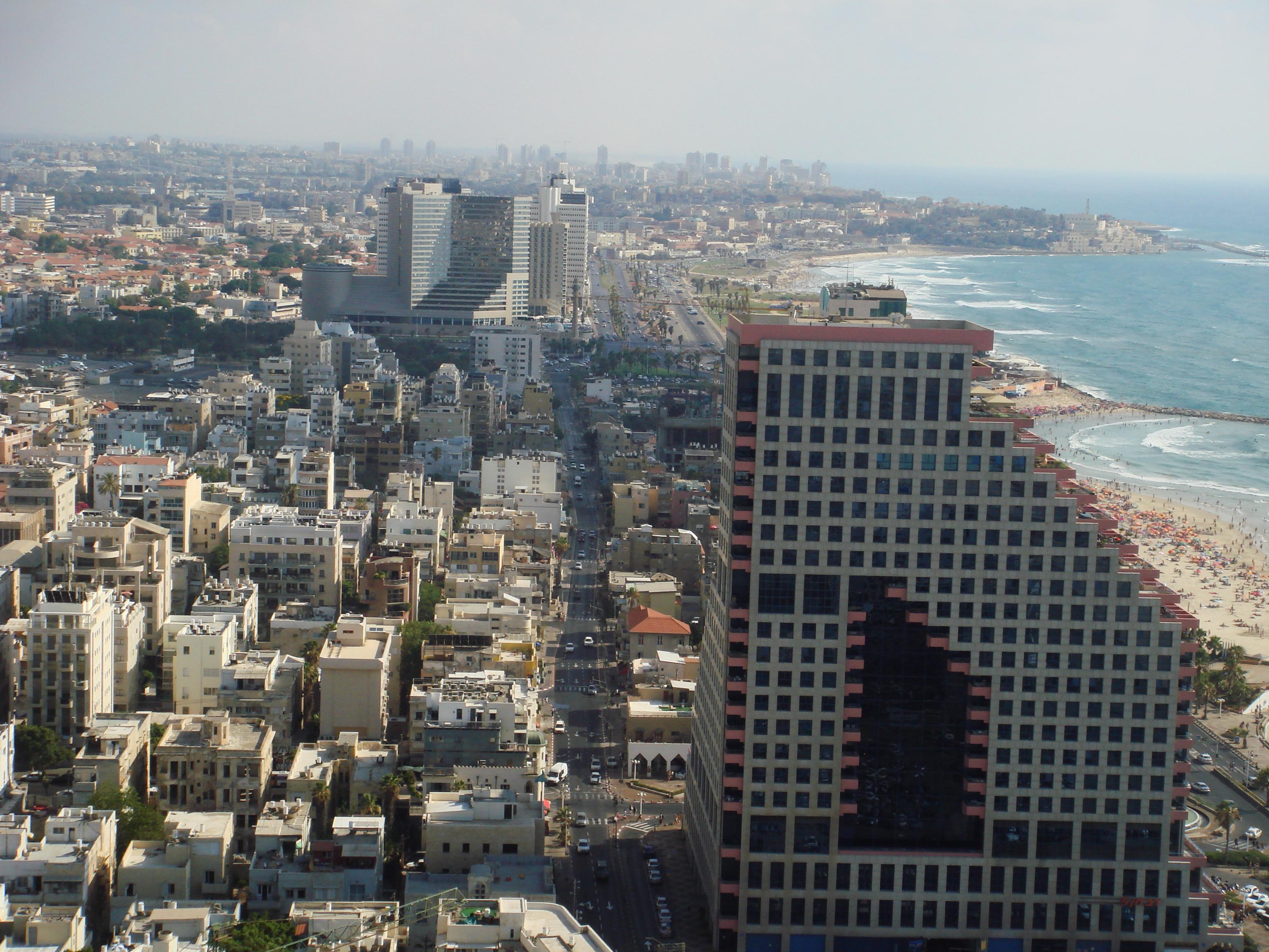 Tel Aviv southwards, Jaffa promontory
