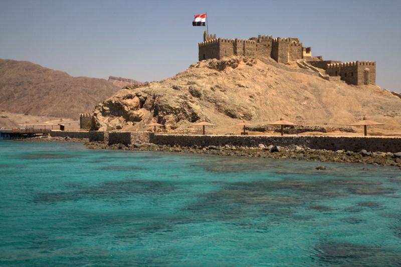 Salah El Din Fortress in Taba