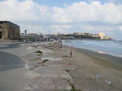 Tel Aviv promenade with Jaffa