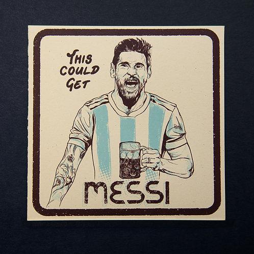 Messi - Cult Status Card