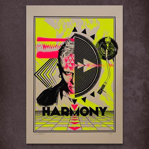 Harmony- Keith Flint tribute poster