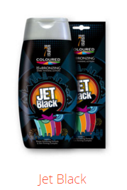 Jet Black Coloured