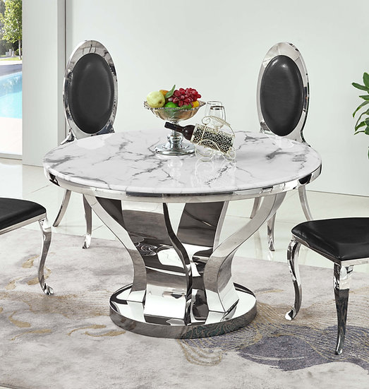 RDT314 MARBLE DINING TABLE