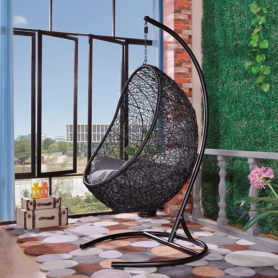 Tinnin Eggplant Swing Chair