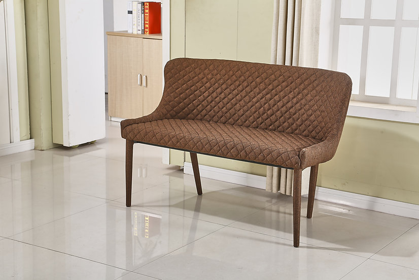 MC15S BROWN DINING BENCH