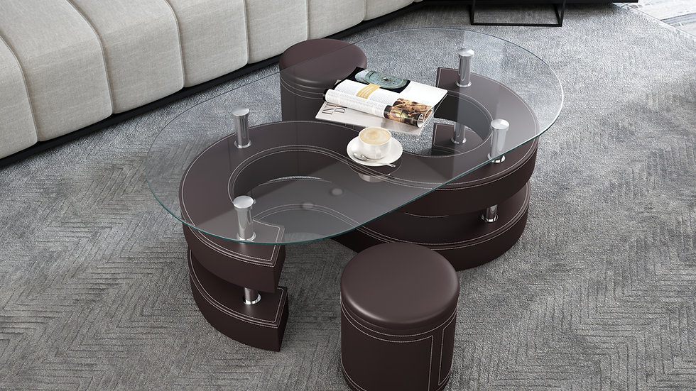 CT255 COFFEE TABLE SET