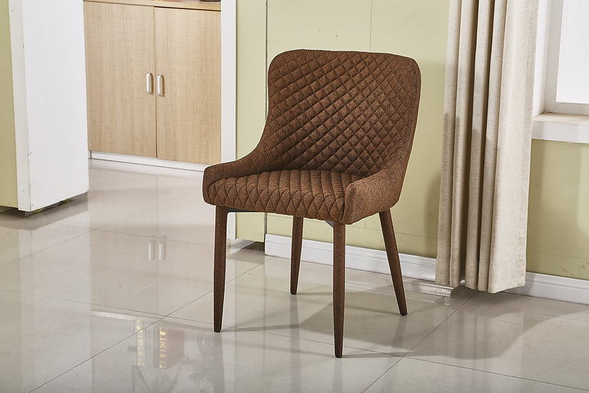 MC15 BROWN DINING CHAIR