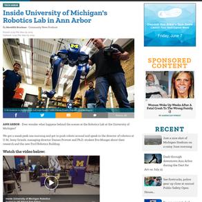 Inside the University of Michigan's Robotics Lab in Ann Arbor