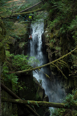 Cypress Falls Canyon, West Vancouver, BC