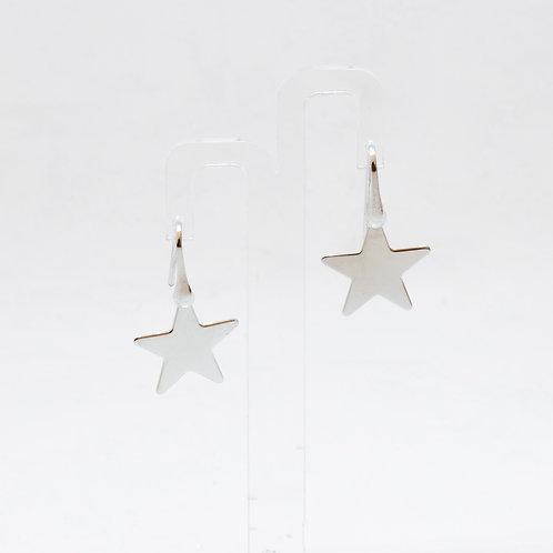 Orecchini pendenti con amo stella